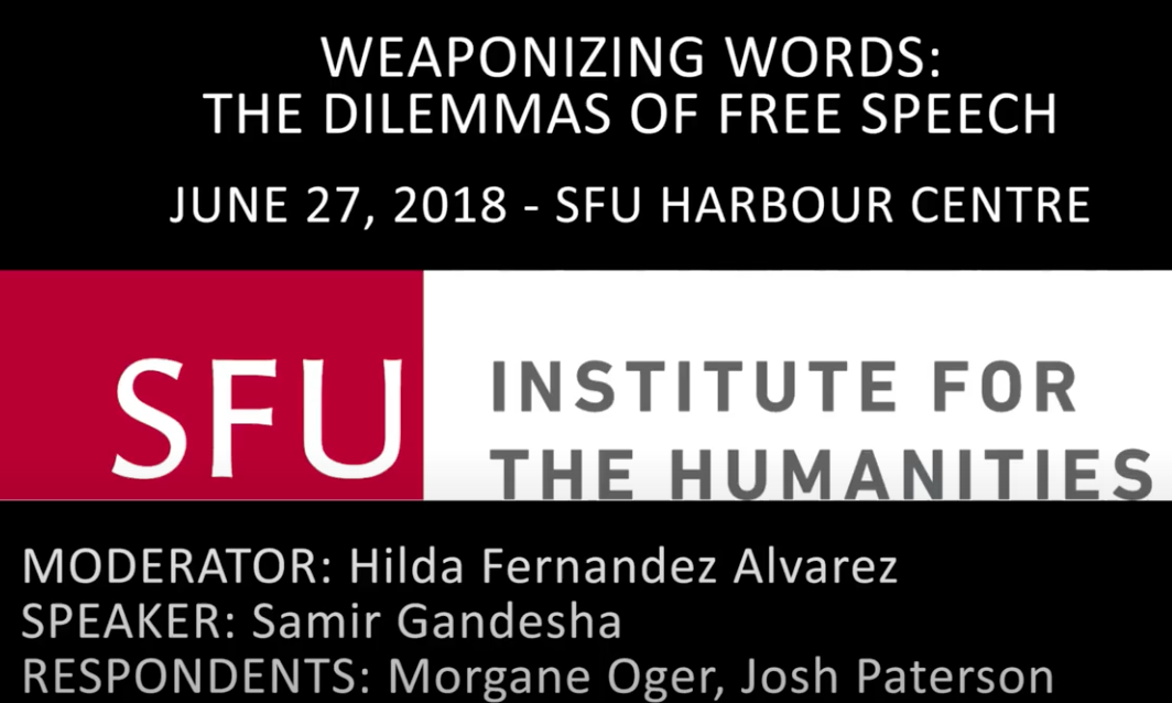 """Featured image for """"Weaponizing Words: The Dilemmas of Free Speech"""""""